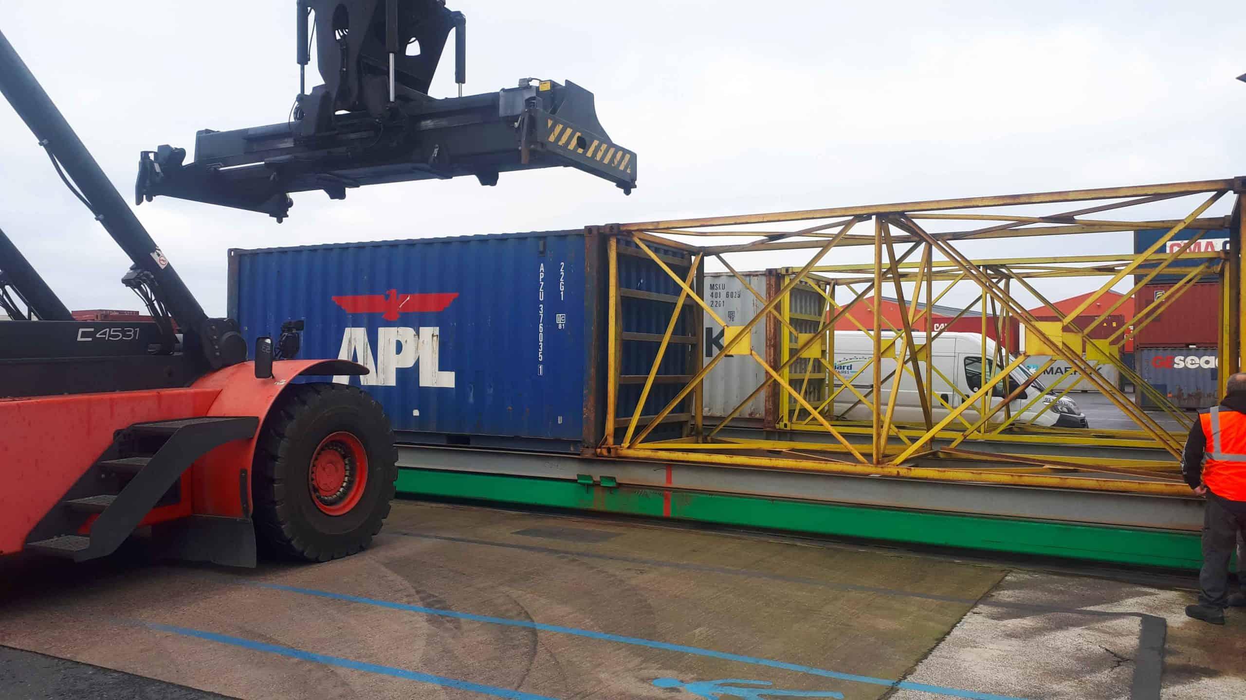 Maintenance hydraulique mobile