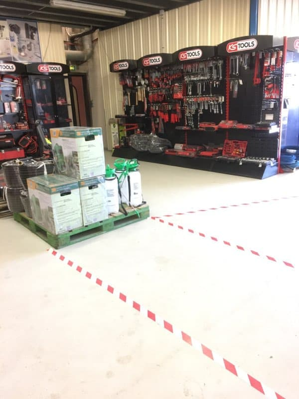 Coronavirus : Réouverture du magasin à Rogerville ⚠️