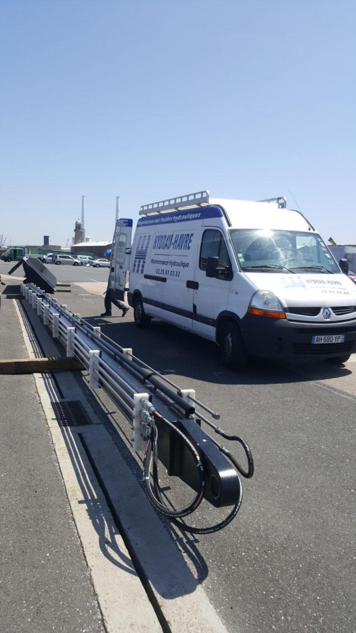 Intervention Hydraulique - Port de plaisance