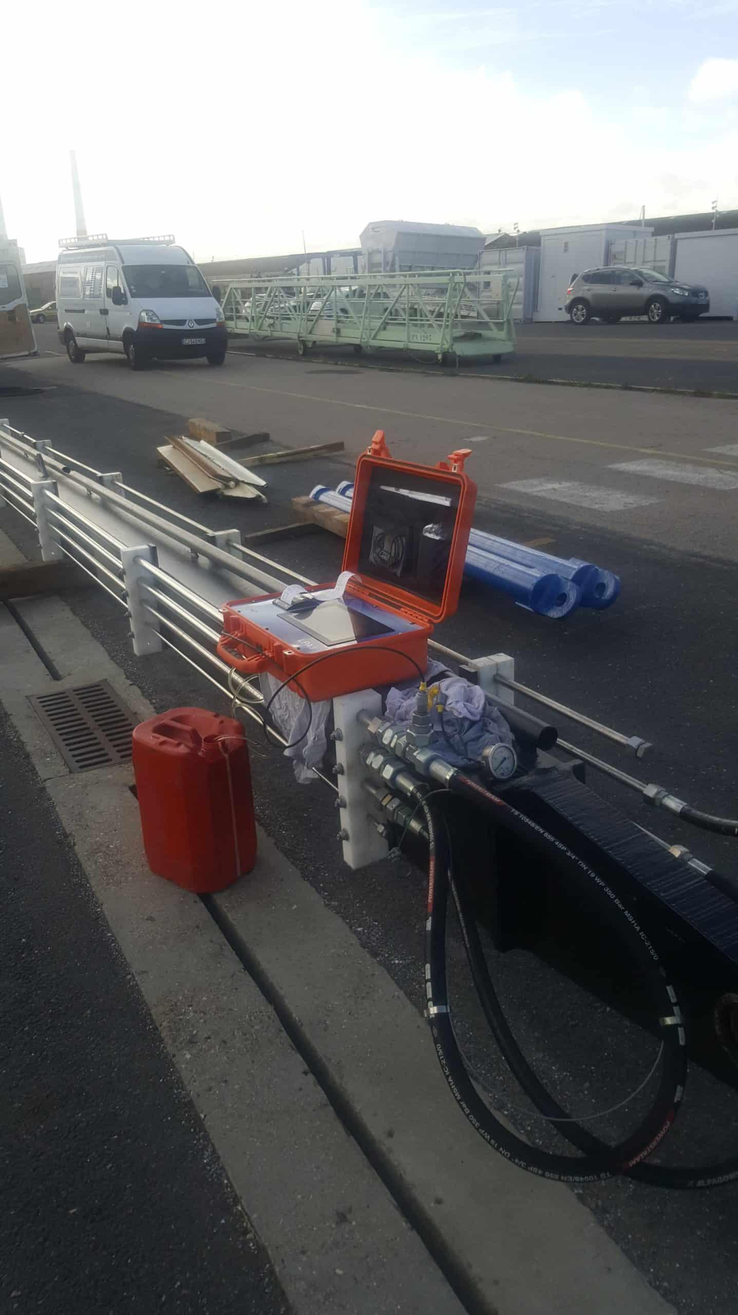 Intervention Hydraulique - Drague du port de plaisance