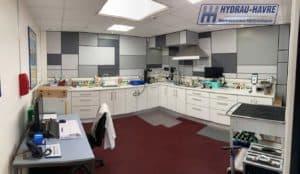 Dépollution / laboratoire