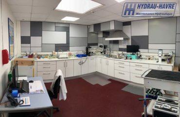 laboratoire / Dépollution