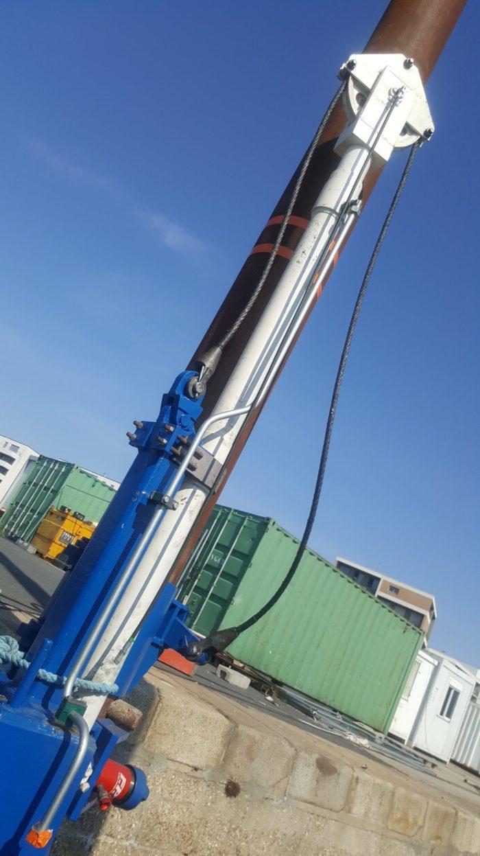drague du port de plaisance Maintenance hydraulique