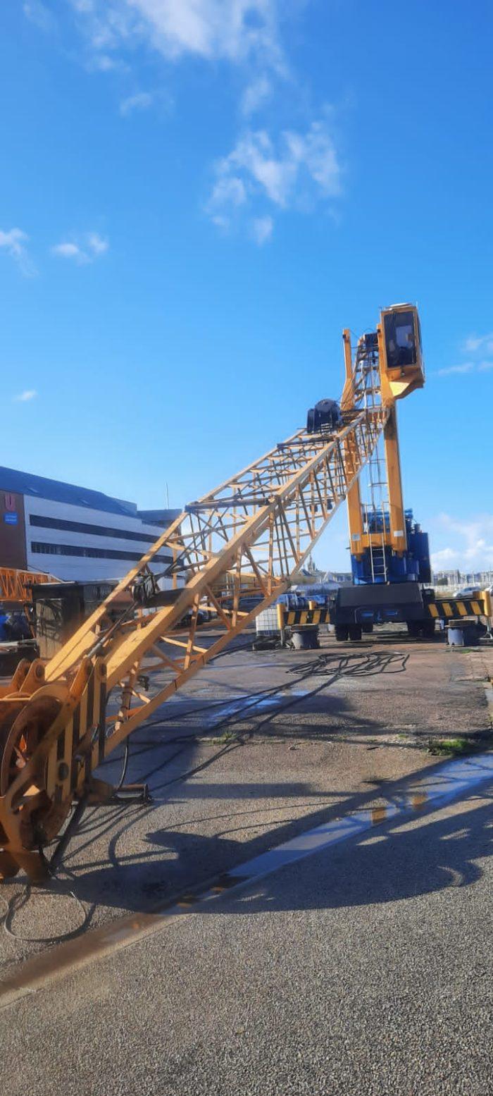 grue industrie Maintenance hydraulique