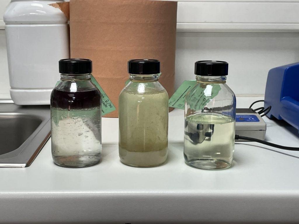 Laboratoire d'analyses d'huiles (interne).