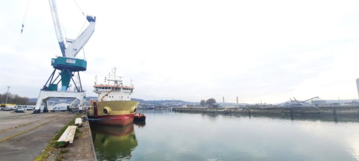 MAINTENANCE hydraulique navire 2