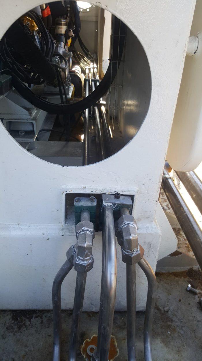 Réalisation tuyautage hydraulique