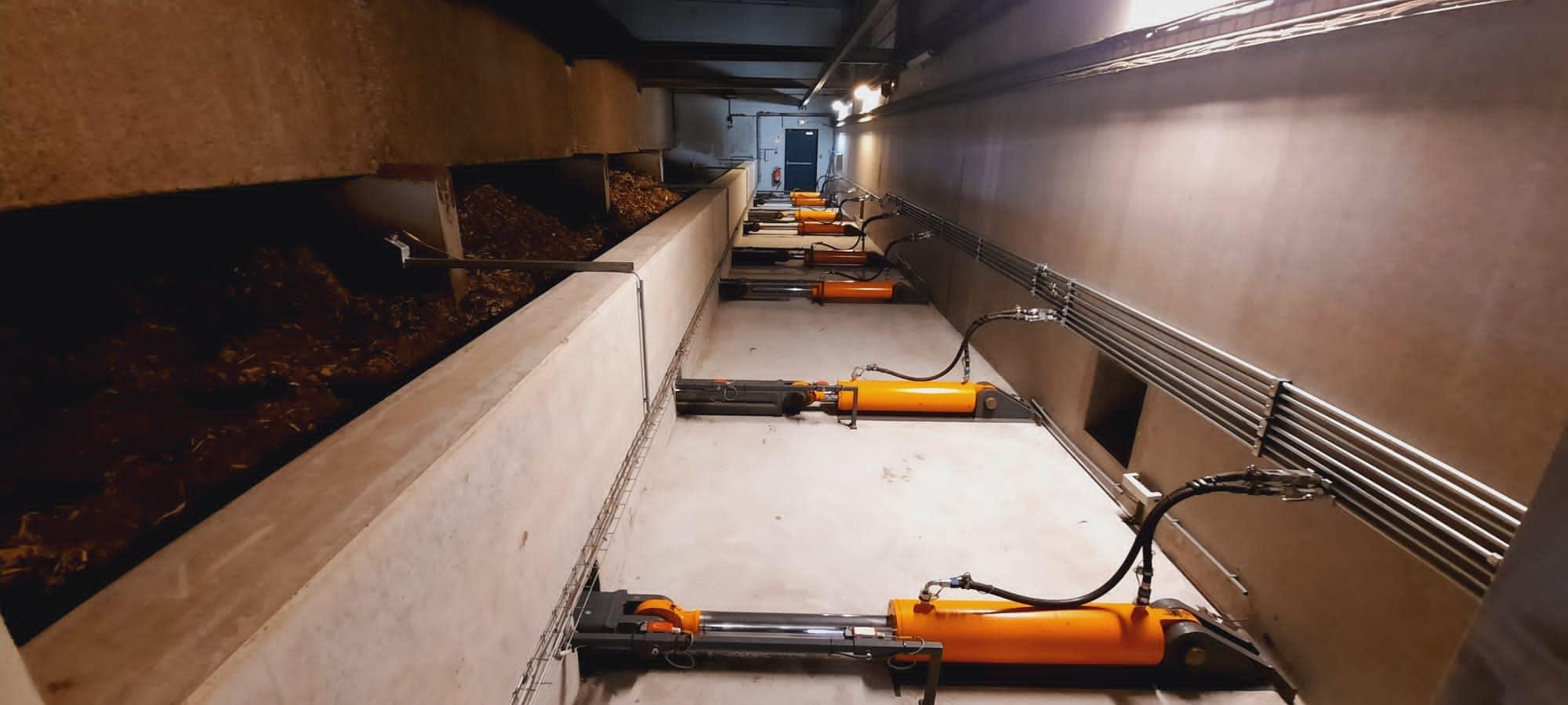 Intervention de maintenance dans une chaufferie bois au Havre